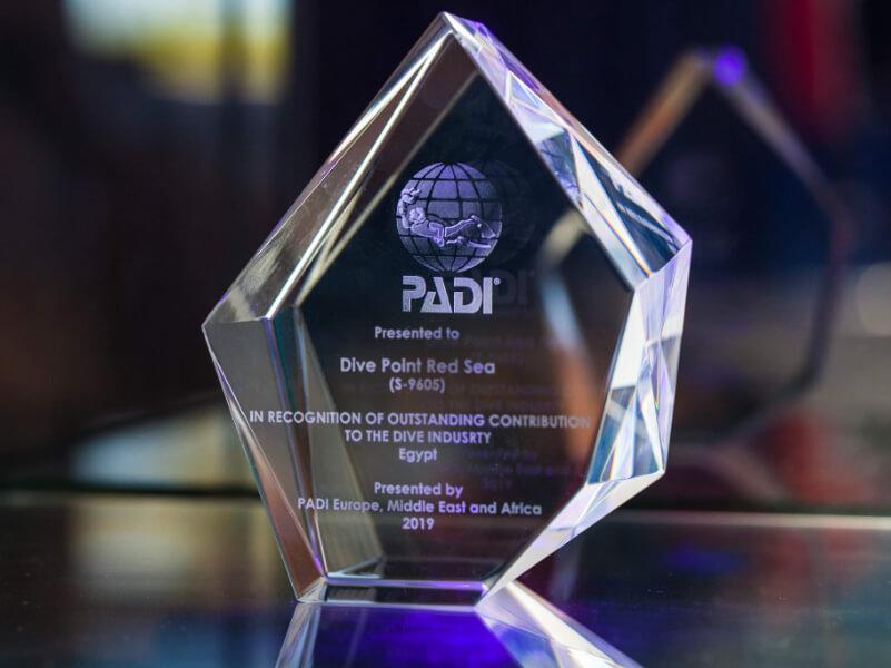 PADI Award erhalten!