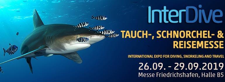 26.-29.09.19 – Besucht uns auf der InterDive Friedrichshafen!