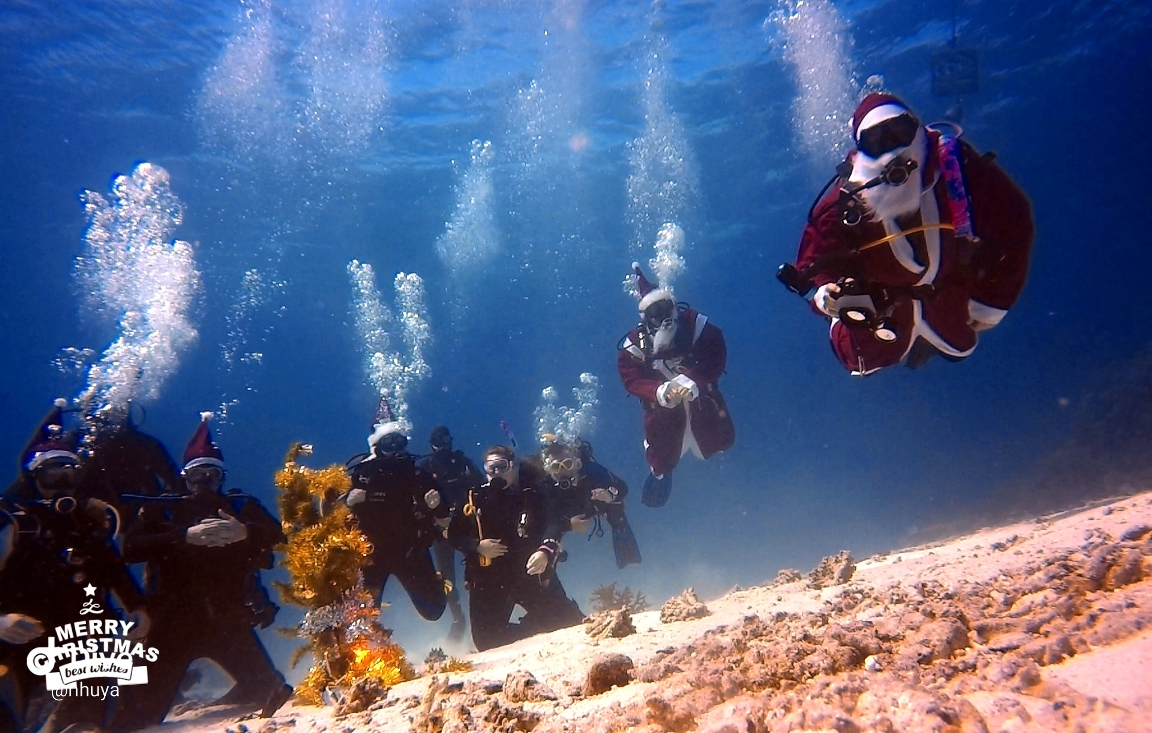 Santa Claus is coming to Dive Point!