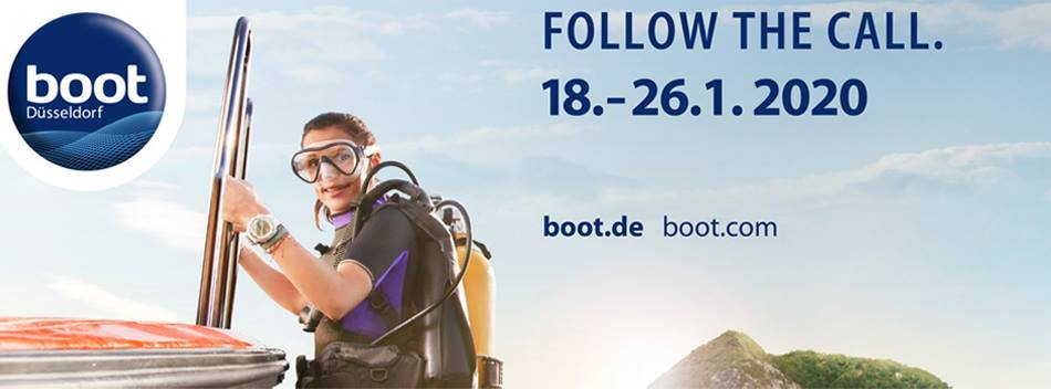 18.-26.01.2020 – Visit us on the Boot Show in Duesseldorf!